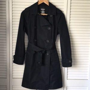 🎉HP🎉L.L. Bean Commuter Trench Coat Black XS